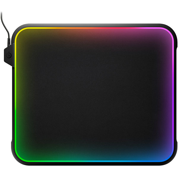 Mouse Pad Gaming STEELSERIES QcK Prism, RGB, negru