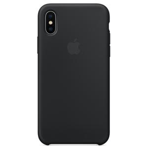 Carcasa pentru APPLE iPhone X, MQT12ZM/A, silicon, Black