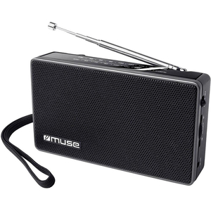 Radio portabil MUSE M-030 R, FM/MW, negru