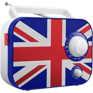 Radio portabil MUSE M-062 UK, FM/MW, alb