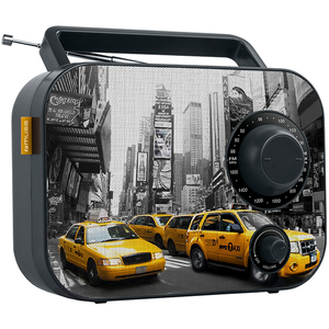 Radio portabil MUSE M-062 NY, FM/MW, negru