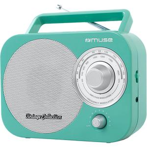 Radio portabil MUSE M-055 RG, FM/MW, verde