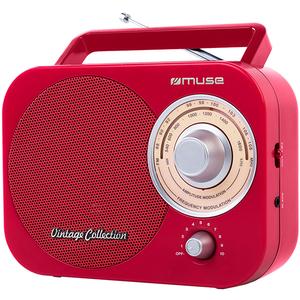 Radio portabil MUSE M-055 RD, FM/MW, rosu