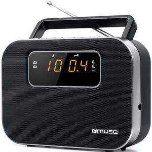 Radio portabil MUSE M-081 R, FM/MW, Afisaj LED, negru