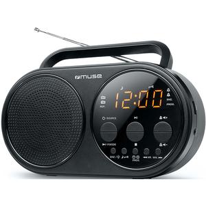 Radio portabil MUSE M-088 R, FM/AM, USB, negru