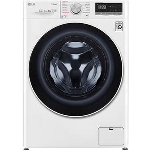 Masina de spalat rufe frontala LG F4WN409S0, 6 Motion, Wi-Fi, 9kg, 1400rpm, Clasa A+++, alb