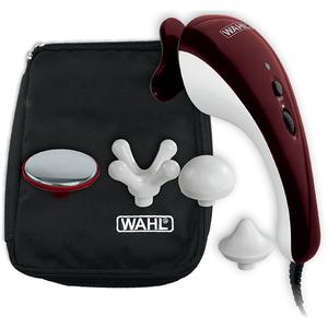 Aparat de masaj cu doua trepte WAHL MSJ04295-016, cu fir, 5 accesoii, alb-rosu