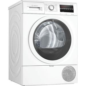 Uscator de rufe BOSCH WTR85T00BY, Condensare si pompa de caldura, 9Kg, 15 Programe, Clasa A++, alb