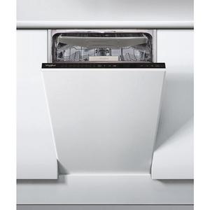 Masina de spalat vase incorporabila WHIRLPOOL WSIP 4O33 PFE, 6th Sense, 10 seturi, 9 programe, 45cm, Clasa A+++, negru