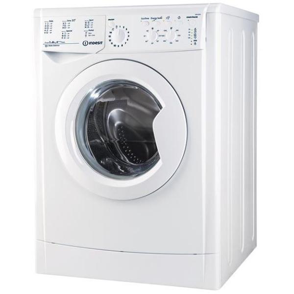Masina de spalat rufe frontala INDESIT IWC 81283 CECO EU.M, 8kg, 1200rpm, A+++, alb