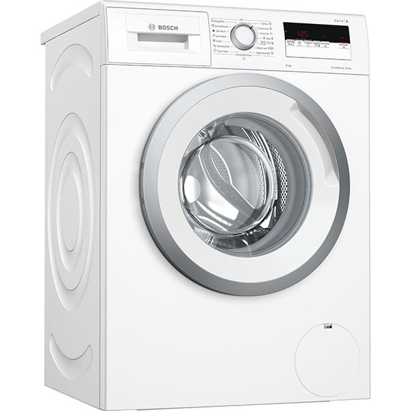 Masina de spalat rufe frontala BOSCH WAN24163BY, EcoSilence Drive, 8kg, 1200rpm, Clasa A+++, alb