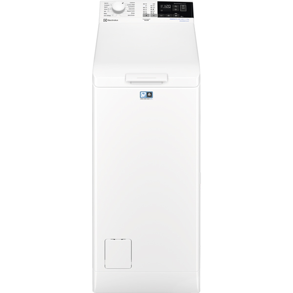 Masina de spalat rufe verticala ELECTROLUX PerfectCare600 EW6T4272I, 7kg, 1200rpm, Clasa A+++, alb
