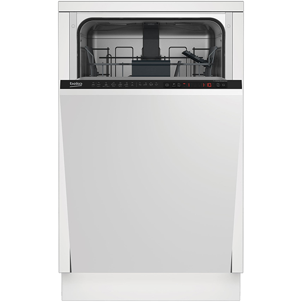 Masina de spalat vase incorporabila BEKO DIS26021, 10 seturi, 6 programe, 45 cm, clasa A++