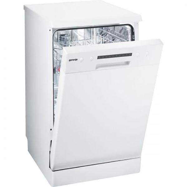 Masina de spalat vase GORENJE GS 52115 W, 9 seturi, 6 programe, 45cm, A++, Alb