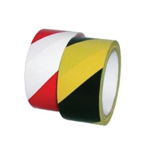 Banda delimitare VOLUM, 70 mm x 200 m, negru/galben