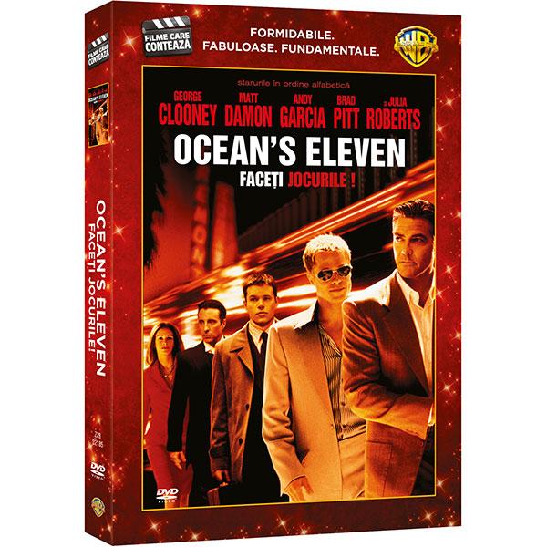 Ocean's Eleven - Faceti jocurile! DVD