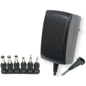 Incarcator universal HOME MW 3IP25, 2.25A, 3-12V, 6 mufe, negru