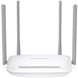 Router Wireless MERCUSYS MW325R N300, 300 Mbps, WAN, LAN, alb