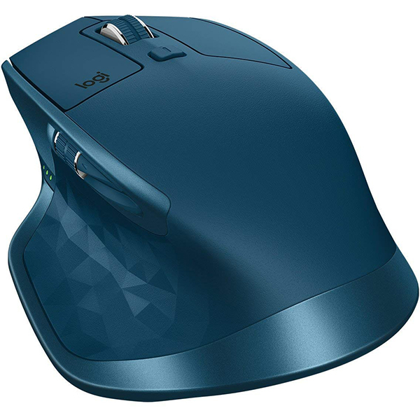 Mouse Wireless LOGITECH MX Master 2S, 4000 dpi, turcoaz