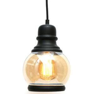 Lampa de tavan tip pendul MYRIA MY2228, 40W, E27, negru-bronz