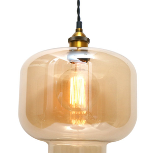 Lampa de tavan tip pendul MYRIA MY2230, 40W, E27, negru-bronz