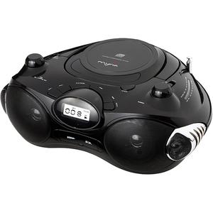 Radio CD portabil MYRIA MY2601, Bluetooth, USB, negru