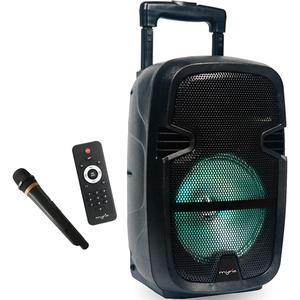 Minisistem audio portabil MYRIA MY2612, 30W, Bluetooth, USB, FM, negru