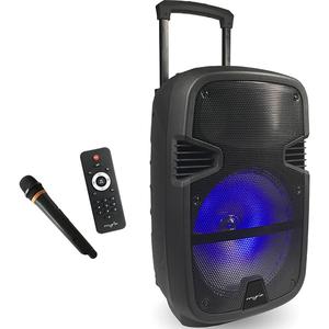 Minisistem audio portabil MYRIA MY2613, 50W, Bluetooth, USB, SD, FM, negru