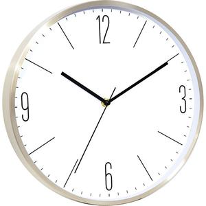 Ceas de perete MYRIA MY2804, 4 cifre, fundal alb