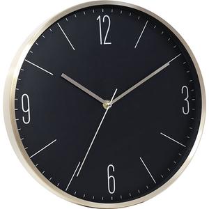 Ceas de perete MYRIA MY2805, 4 cifre, fundal negru