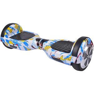 Scooter electric MYRIA MY7012YBG Junior, 6.5 inch, graffiti galben