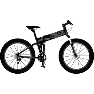 Bicicleta electrica pliabila MYRIA MY7018GR, 26 inch, gri