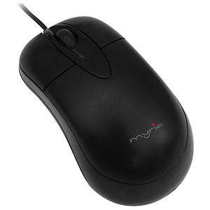 Mouse optic cu fir MYRIA MY8511, USB, negru