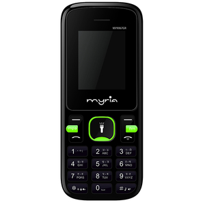 Telefon MYRIA Endless Power U1 MY9067GR, 32MB RAM, 2G, Dual SIM, Black-verde
