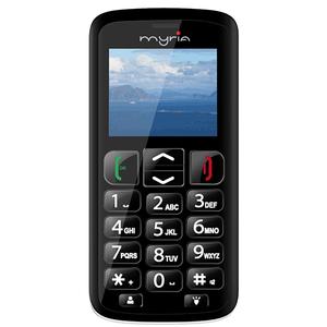 Telefon mobil MYRIA Senior 3G MY9071BK, Negru