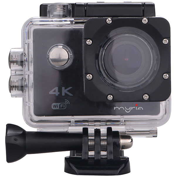 Camera video sport MYRIA MY2500, 4K, Wi-Fi, negru