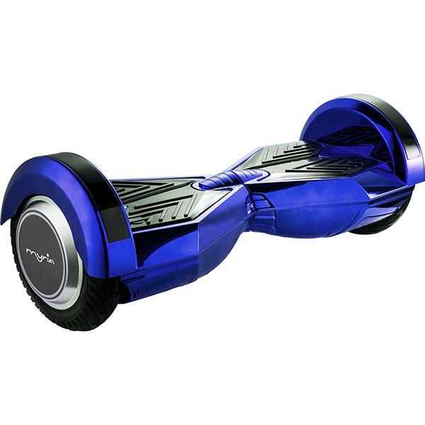 Scooter electric MYRIA MY7007BL Smart Ride 8F, 8 inch, albastru + geanta transport inclusa
