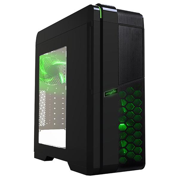 Carcasa MYRIA MY8731BK, USB 3.0, 500W, negru