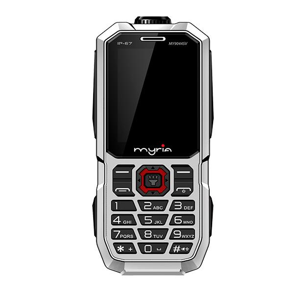 Telefon MYRIA Enduro, 32MB RAM, 2G, Dual SIM, Silver