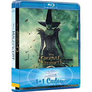 Pachet filme: Maleficent si Grozavul si puternicul Oz Blu-ray