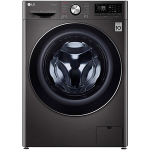 Masina de spalat rufe frontala LG F4WN609S1, AI-DD, Wi-Fi, 10.5kg, 1400rpm, Clasa A+++, negru
