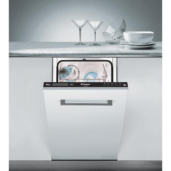 Masina de spalat vase incorporabila CANDY CDI1D952, 9 seturi, 7 programe, 45 cm, clasa A+