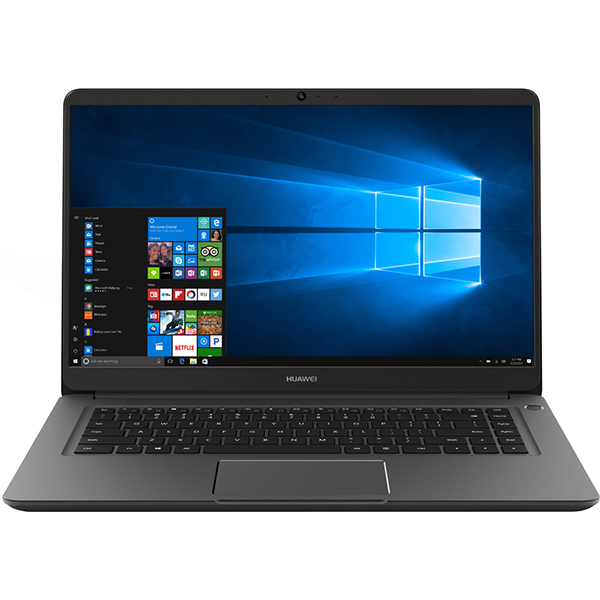 "Laptop HUAWEI MateBook D 15, Intel Core i5-8250U pana la 3.4GHz, 15.6"" Full HD, 8GB, SSD 256GB, Intel® UHD Graphics 620, Windows 10 Home"