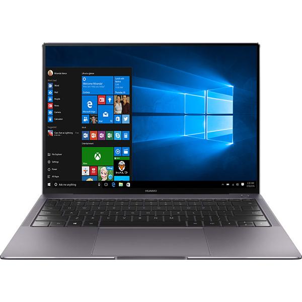 "Laptop HUAWEI MateBook X Pro, Intel Core i7-8550U pana la 4.0GHz, 13.9"" Touch, 8GB, SSD 512GB, NVIDIA GeForce MX150 2GB, Windows 10 Pro, Gri inchis"