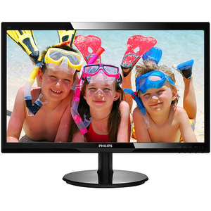 "Monitor LED TN PHILIPS 246V5LDSB, 24"", Full HD, 60Hz, negru"