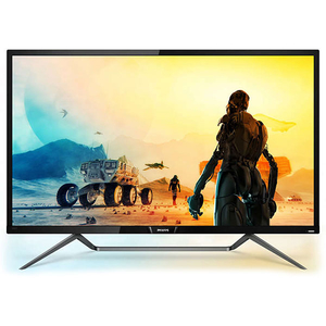 Monitor LED Gaming PHILIPS 436M6VBPAB, 42.51'', 4K, negru