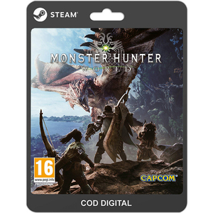 Monster Hunter: World PC (licenta electronica Steam)