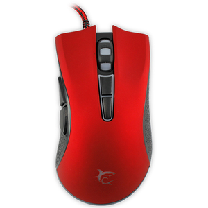 Mouse gaming WHITE SHARK Spartacus GM-1601, 4800 DPI, rosu