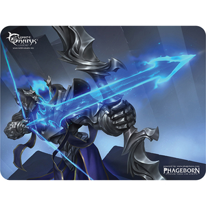 Mouse Pad Gaming WHITE SHARK Arcane Sentry MP-1894, marime L, negru-albastru