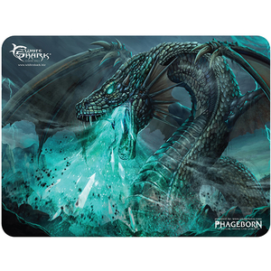 Mouse Pad Gaming WHITE SHARK Energy Gorger MP-1898, marime L, negru-verde